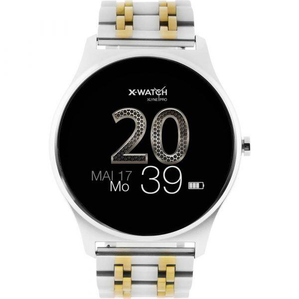 X-WATCH Joli XW PRO Smartwatch 45 mm Zilver